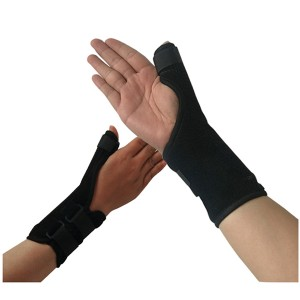 Velet Thumb Support Brace with (De Quervain's Thumb Splint )Spica – Splint Helps Relieve Thumb Pain & InjuryTendonitis of the Wrist