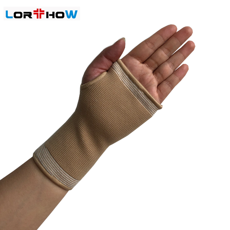 Elastic Palm &Wrist Brace for Sports Fitness Knit Wrist Support Fit either left or right wrist Featured Image