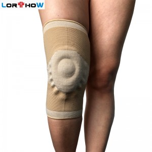 Elastic Knee Brace Gel Cushion with Spring Kneecap, Kneelet,kneecap supporter
