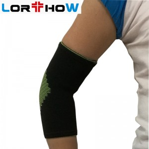 Elastic Pull-up Elbow Support Brace Sleeve for strains or stiffness pain relief  elastic elbow support sleeve