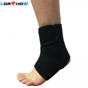 Stretchable Neoprene Ankle Wrap Brace with Velcro Wearable in walking and sports shoes Ankle Brace Factory Bulk Sale