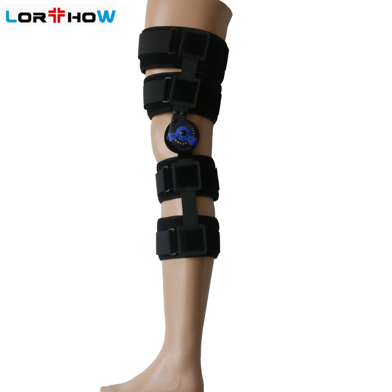 Motion Control Hinged ROM Knee splint brace for Post-Op recovery and rehabilitation bulk sale manufacturer Featured Image