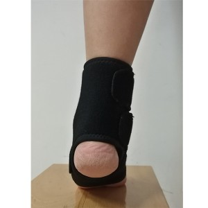 Open Type Ankle Support Brace to Wrap sprained ankle for custom fit