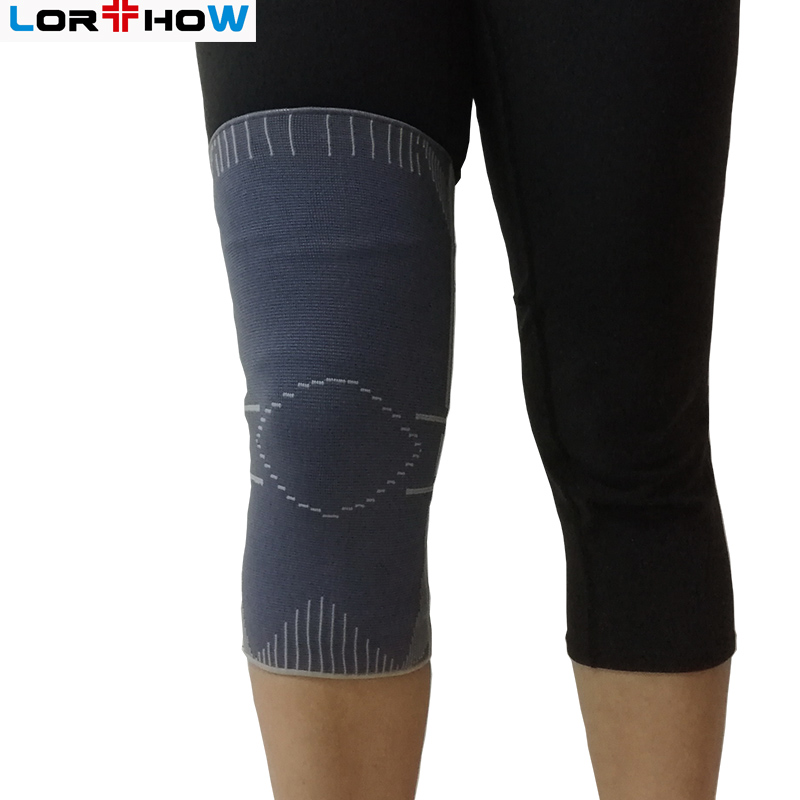 Pull-up Elastic Knit Knee Sleeve Brace closed patella for sports protection kneelet kneecap new Featured Image