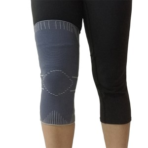 Pull-up Elastic Knit Knee Sleeve Brace closed patella for sports protection