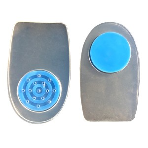 Silicone Gel Heel Pad with Softer Dot