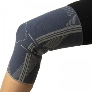 Pull-up Elastic Knit Knee Sleeve Brace closed patella for sports protection kneelet kneecap new
