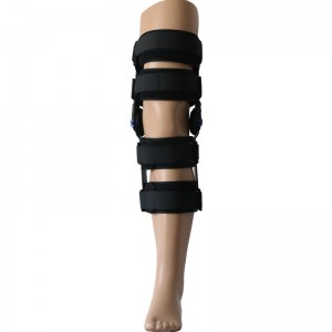 Motion Control Hinged ROM Knee splint brace for Post-Op recovery and rehabilitation bulk sale manufacturer