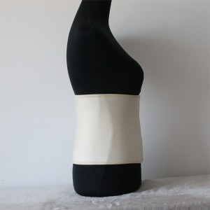 Wide Elastic Bamboo fiber Lumbar Shrink Wrap for Post-delivery recovery