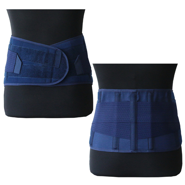 Adjustable Lumbar Support Lower Back Belt Brace Double Pull for Pain Relief Unisex Sports Protection Waist Kidney Belt Featured Image