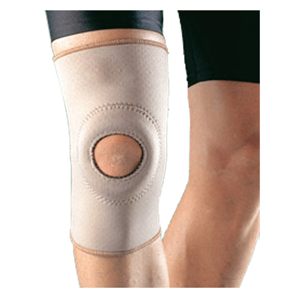Factory wholesale Foam Coccyx Seat Cushion - open patella pull-on knee sleeve for strains and weak knee protection – Bracefactory