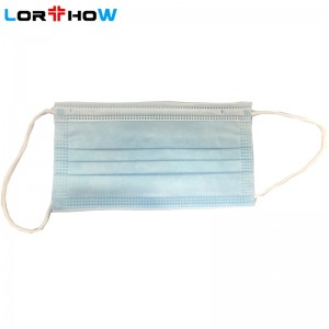 3-layer Disposable Civil Mask / 3-layer Disposable Protective Civil Face Mask