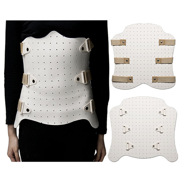 Thermoplastic Splint Sheet Material for Waist Vest fixing reinforced type Featured Image