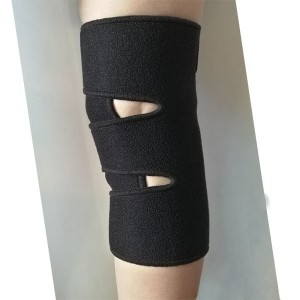 Single size Open sport gym support Knee Wrap for weak or stressed knee or arthritis