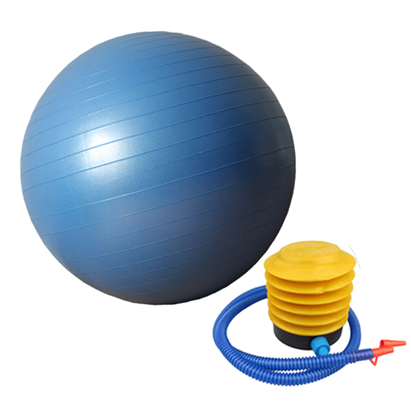 Anti-burst Gym Exercise Swiss Ball 45cm 55cm 65cm with free pump Featured Image