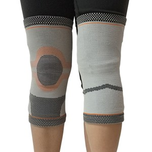 Jacquard Knitted High Elastic Knee Sleeve Brace with Custom Pattern for pain relief