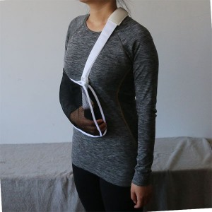 Lightweight Medical Mesh Arm Sling with Thumb Loop for Immobilization and Support Shoulder Mild Sprain