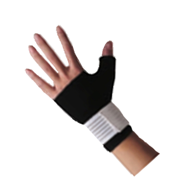 Stretchable Neoprene Wrist Gloves Palm and Thumb Brace for the wrist joint warmth and pain relief Featured Image