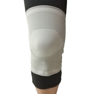 Pull-up Medical Elastic Knit Knee Sleeve Brace with cap patella for Medical Rehabiliation whole sale