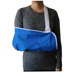 Universal Economy Arm Sling support made of breathable cotton for post surgical protection