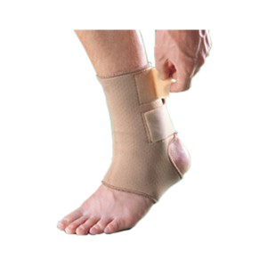 Perforated Breathable Neoprene ankle Brace for Mild Achilles Tendinitis