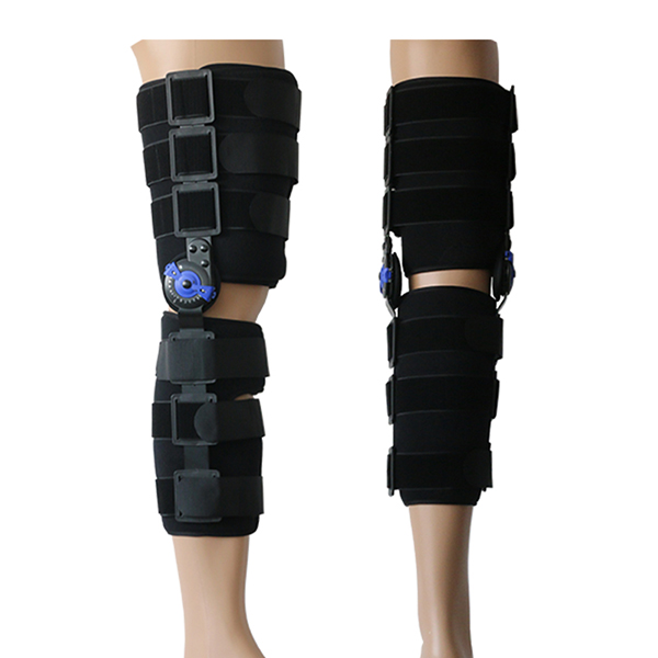 Hinged ROM Knee Support Brace Motion Control Orthosis For Knee Injury Recovery and Knee burden relief Featured Image