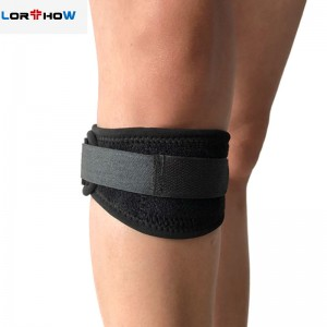 Justerbar Sports Patella Tendon Knäskydd Brace Strap Band Protector