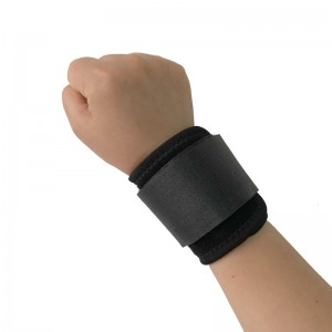Black Wrist Bands and Sports Wrist Wrap with enhancing Strap Supporting Gym Wrist