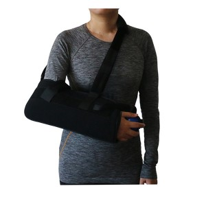 Abduction Shoulder Sling Immobilizer with contoured foam pillow for  15 degree abduction positioning