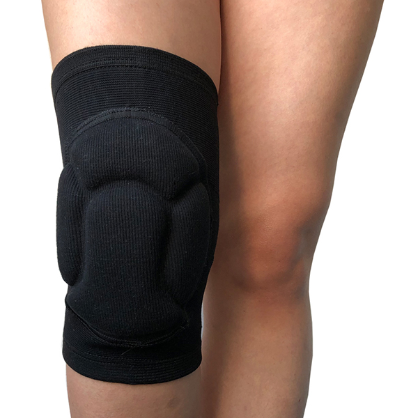 Sports Protection Thicken Sponge Padding Breathable Elastic Knee Pads Knees Brace Support Knee Protector for volleyball, Football,Clim Featured Image