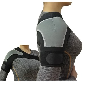 Enforced Shoulder Support immobilizer with extra straps support to shoulder and aids healing