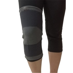 China Manufacturer for Back Strap Posture Corrector - Medical Elastic Knit Knee Support Brace Wrap Sleeve with Cap Patella of Carbon Fiber material – Bracefactory