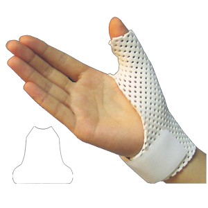 Thermoplastic Splint Sheet for Finger fixing tubular type splint