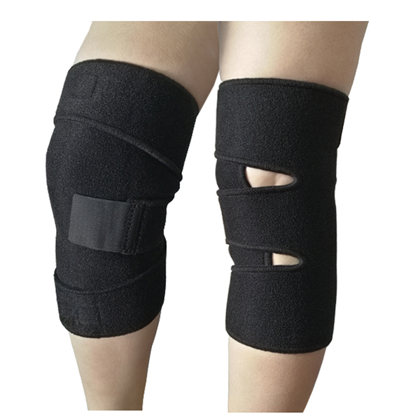 Single size Open sport gym support Knee Wrap for weak or stressed knee or arthritis Featured Image