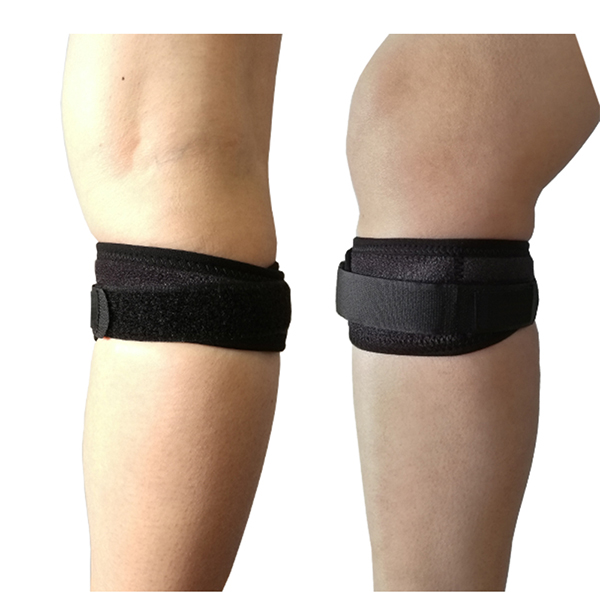 Adjustable Sports Patella Tendon Knee Support Brace Strap Band Protector Featured Image