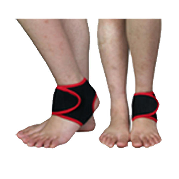 Open Ankle Brace of stretchable neoprene for optimum fit Featured Image