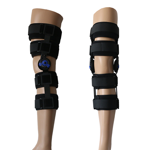 Online Exporter Wrist Protector - Motion Control Hinged ROM Knee splint brace for Post-Op recovery and rehabilitation – Bracefactory