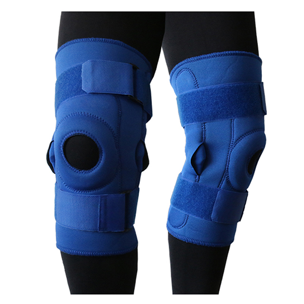 Hinged Knee Brace with Patella Stabilizer and knee protection pad for patella displacement prevention Featured Image